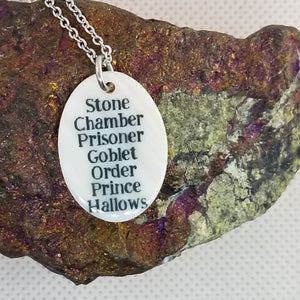 HP Book names - Shell pendant