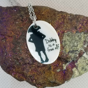 Dobby is a free elf  - Shell pendant