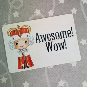 Awesome! Wow! - Hamilton inspired Magnet