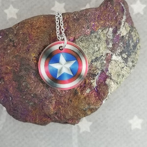 Cap Shield - Shell pendant