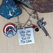 With You 'Till The End Of The Line - Charm Necklace