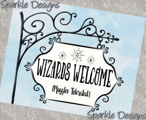 Wizards Welcome - 212 Art Print