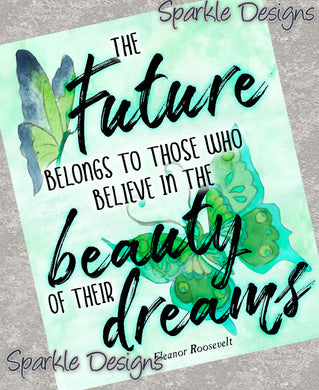 Beauty of their dreams - Eleanor Roosevelt 233 Magnet