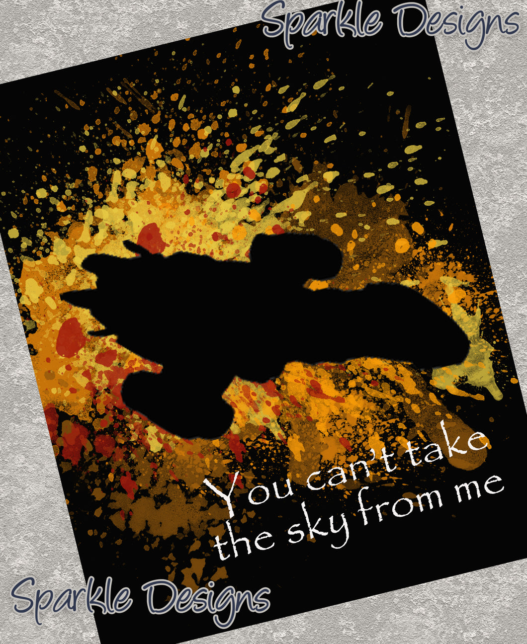 You can't take the sky from me - Firefly 52 Art Print