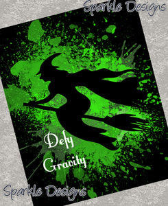 Defy gravity - Wicked 42 Art Print