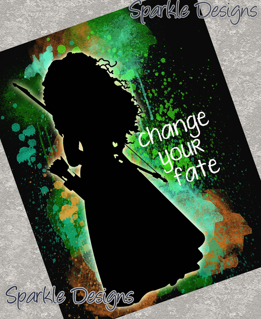 Change your fate - Merida / Brave 26 Art Print