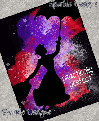 Practically perfect - Mary Poppins 61 Art Print