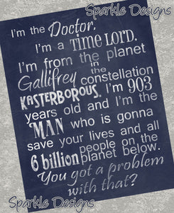 I'm the Doctor - Doctor Who  4