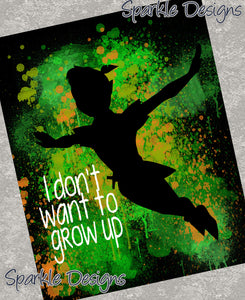 I don't want to grow up - Peter Pan 14 Art Print