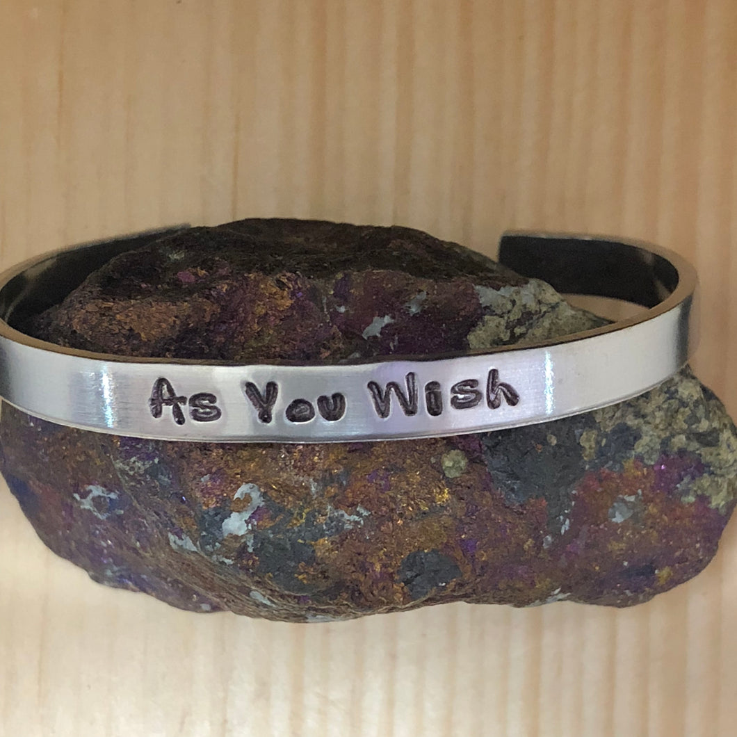 As You Wish Cuff Bracelet