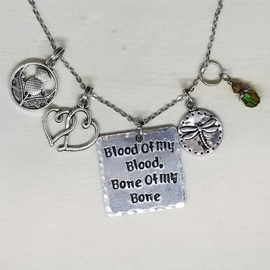 Blood Of My Blood, Bone Of My Bone - Charm Necklace