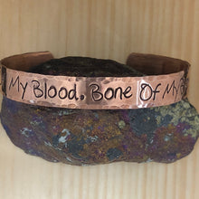 Blood of my Blood Cuff Bracelet