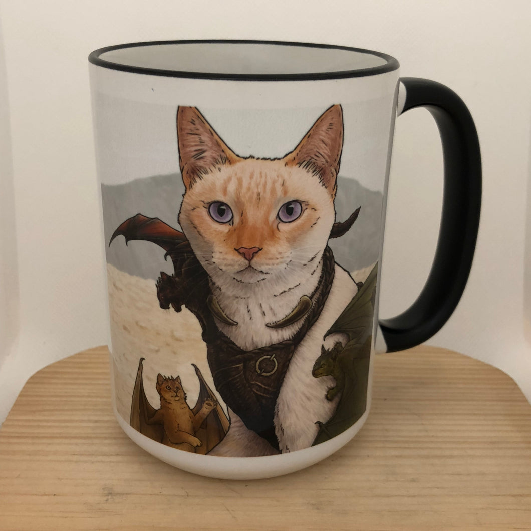 Catleesi 15 oz coffee mug