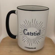Catstiel 15 oz coffee mug