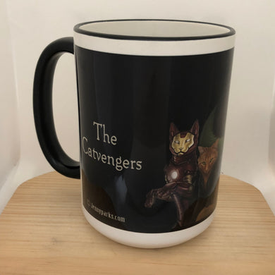 Catvengers 15 oz coffee mug