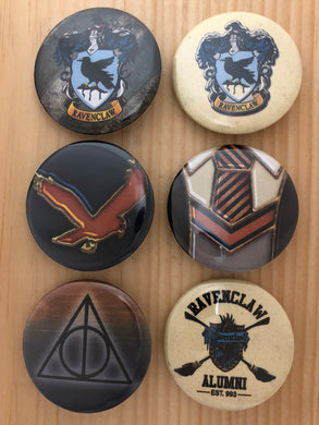 Ravenclaw Inspired Button Set