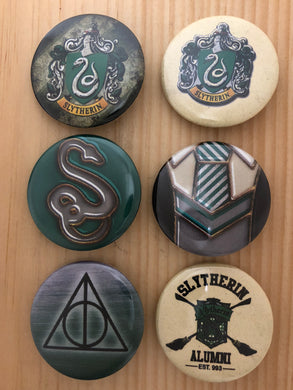Snakes Inspired Button Set