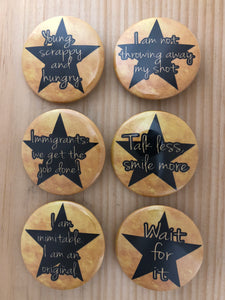 Hamilton Inspired Button Set 2