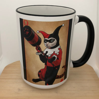 Harley Kitty 15 oz coffee mug
