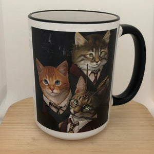 Harry Pawter 15 oz coffee mug