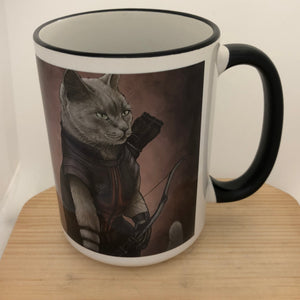 Hawkeye 15 oz coffee mug