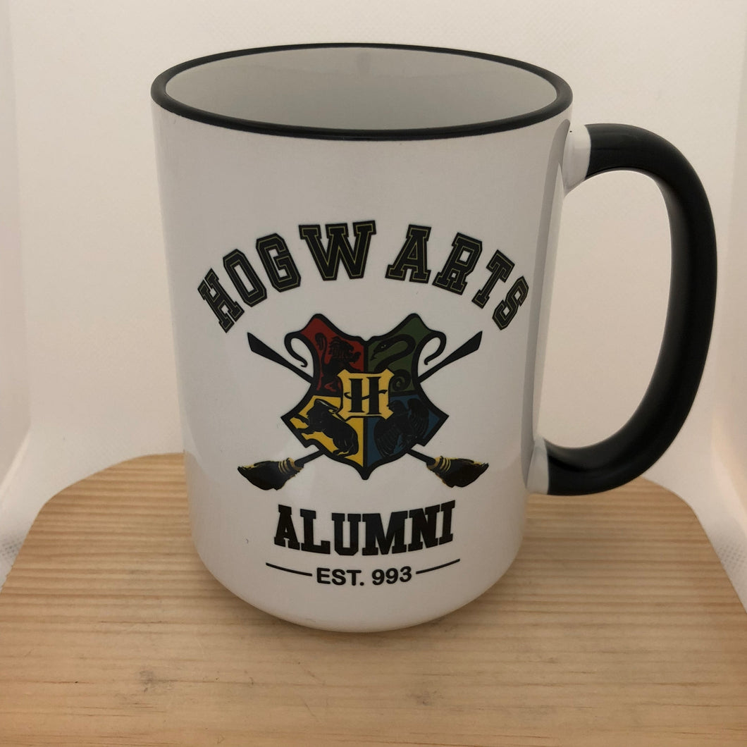 Hogwarts Alumni - Harry Potter inspired mug