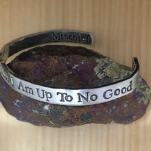 I Solemnly Swear That I Am Up To No Good (Mischief Managed) Cuff Bracelet