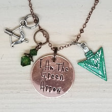 I Am The Green Arrow - Charm Necklace
