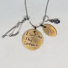 I See Better From A Distance - Charm Necklace