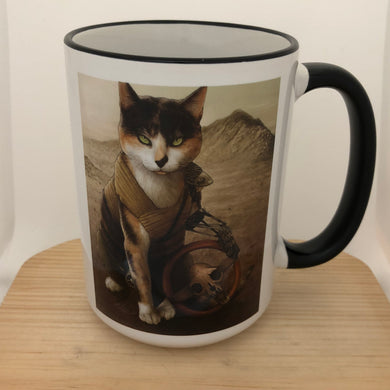 Impurrator Furriosa 15 oz coffee mug