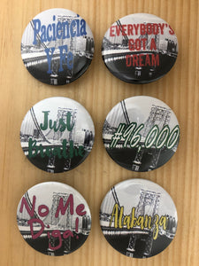In The Heights Inspired Button Set