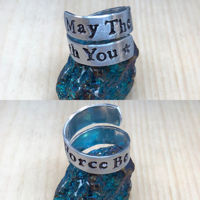 May The Force Be With You Ring