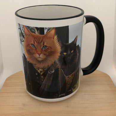 Meowtlander 15 oz coffee mug