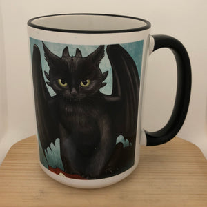 Mewthless 15 oz coffee mug