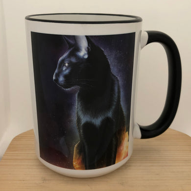 Morpheus Cat Of Dreams 15 oz coffee mug