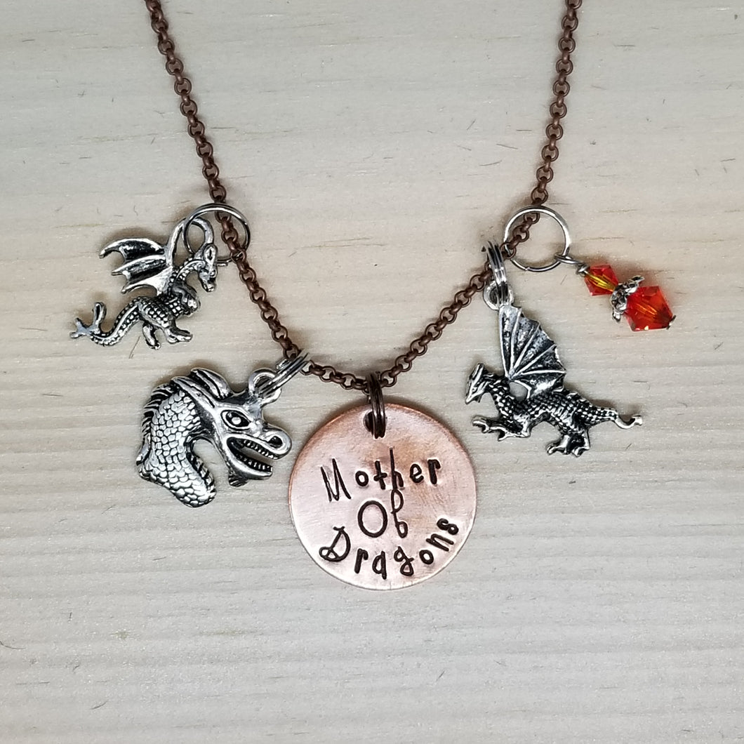 Mother of Dragons - Charm Necklace