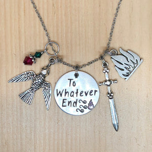 To Whatever End - Charm Necklace