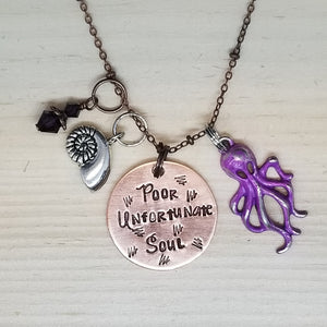 Poor Unfortunate Soul - Charm Necklace