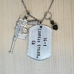 SG-1 Colorado Springs, CO Charm Necklace