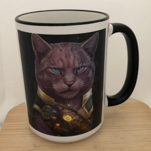 Thanos 15 oz coffee mug