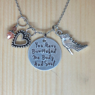 You Have Bewitched Me Body And Soul - Charm Necklace