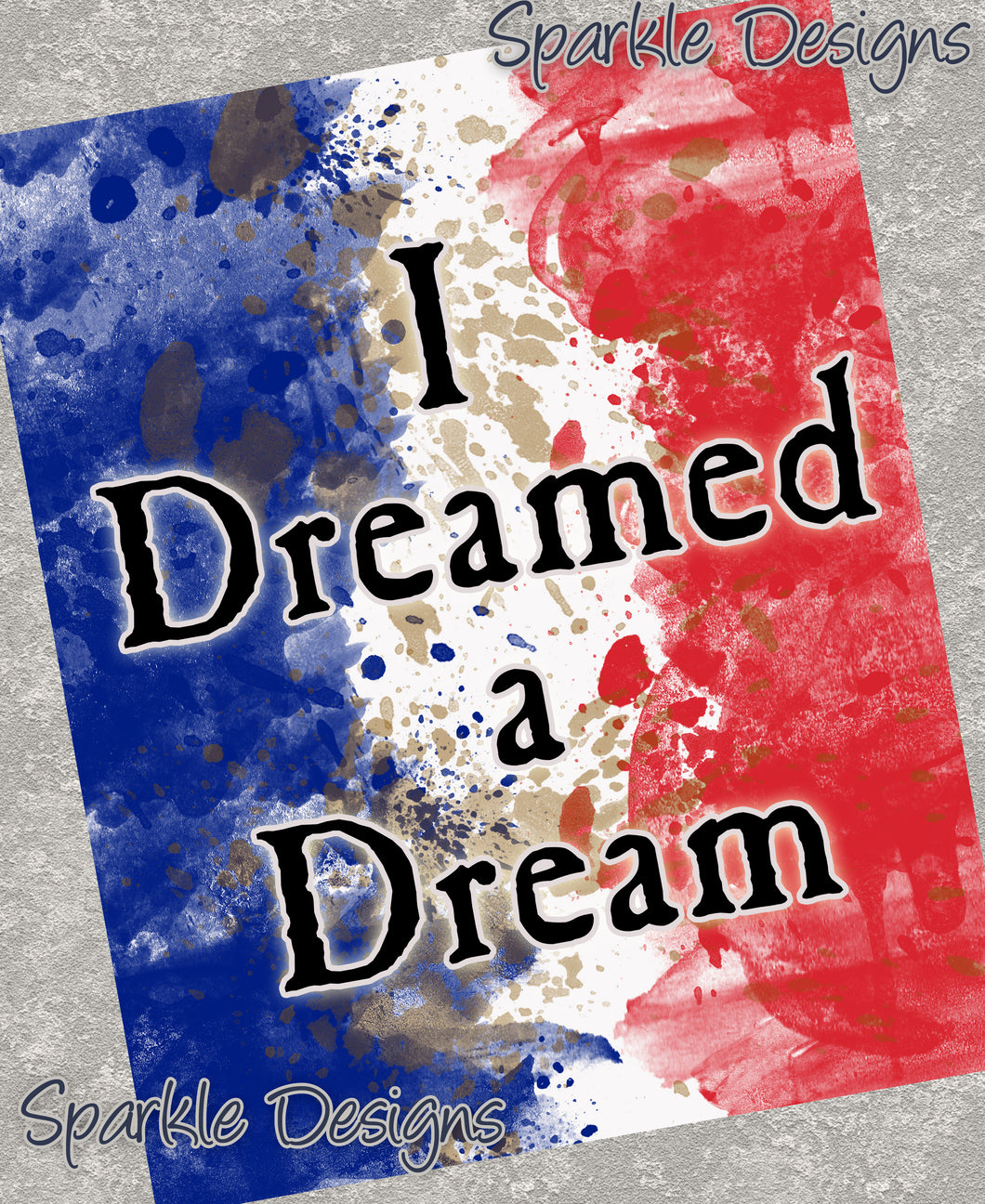 I dreamed a dream - Les Miserables 67 Art Print