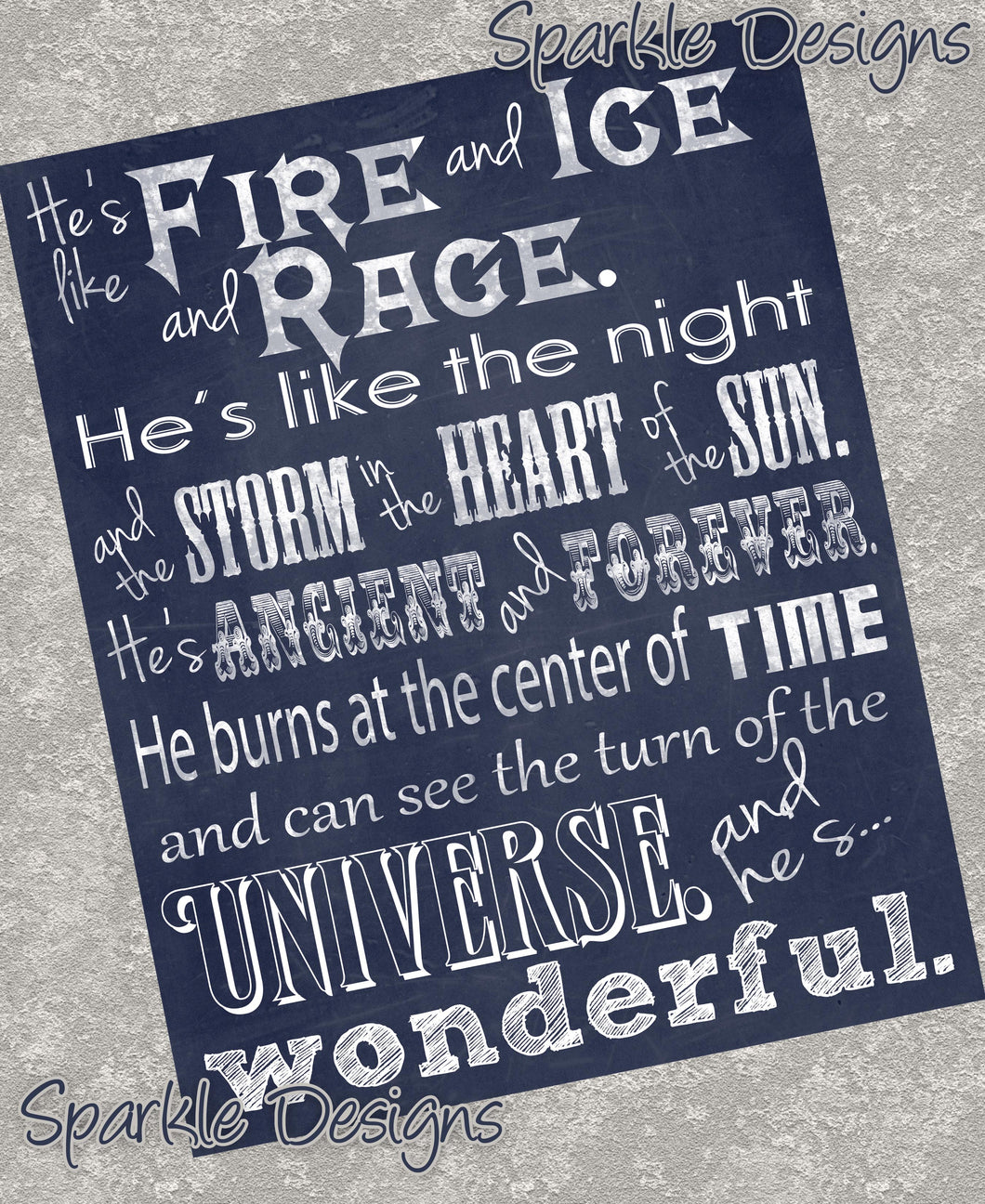 Fire and ice and rage - Doctor Who  5