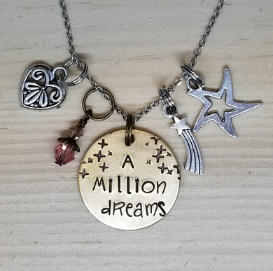A Million Dreams - Charm Necklace