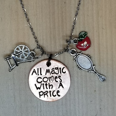 All Magic Comes With A Price - Charm Necklace