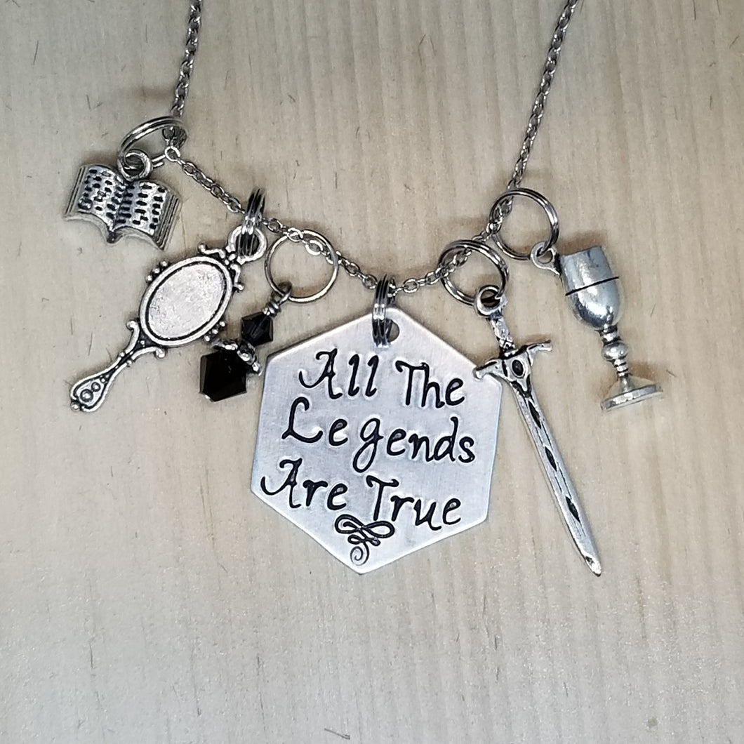All The Legends Are True - Charm Necklace