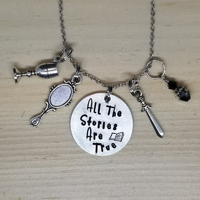 All The Stories Are True - Charm Necklace