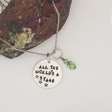 All The World's A Stage - Pendant Necklace