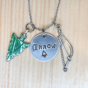 Arrow - Charm Necklace