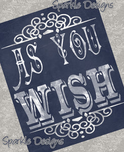 As you wish - The Princess Bride 96 Magnet
